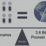 ثروت هشت میلیاردر معادل با ثروت نیمۀ پایین جمعیت جهان