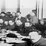 هفتمین کنگرۀ سراسری بلشویکها: قطعنامه دربارۀ جنگ