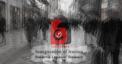 Iranian bolshevik leninists tendency IBLT
